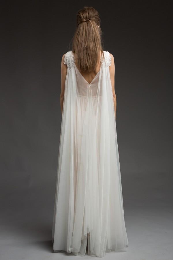 Back of Story Wedding Dress from the Katya Katya Shehurina Morning Mist 2017-2018 Collection