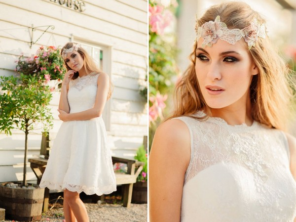 Summer Rose Wedding Dress by Kitty and Dulcie