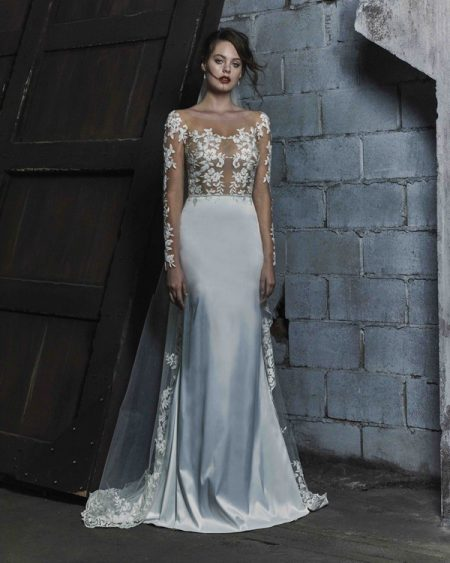 Talya wedding dress from the Elbeth Gillis Mystique 2018 collection