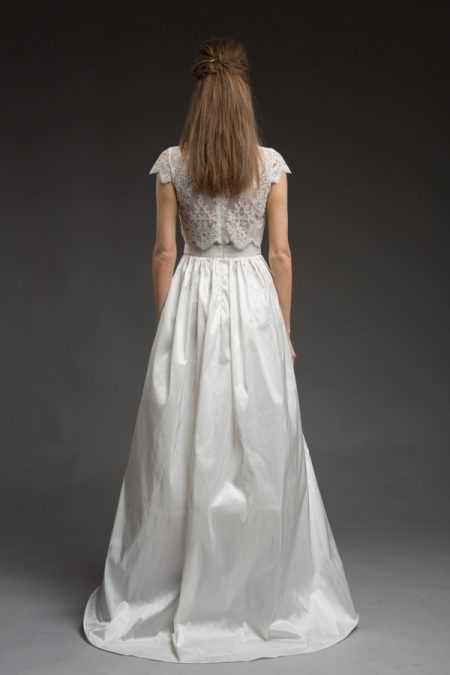 Back of Tamara Wedding Dress from the Katya Katya Shehurina Morning Mist 2017-2018 Collection