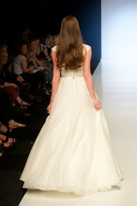Back of Tyler Wedding Dress from the Alan Hannah Veritas 2018 Collection