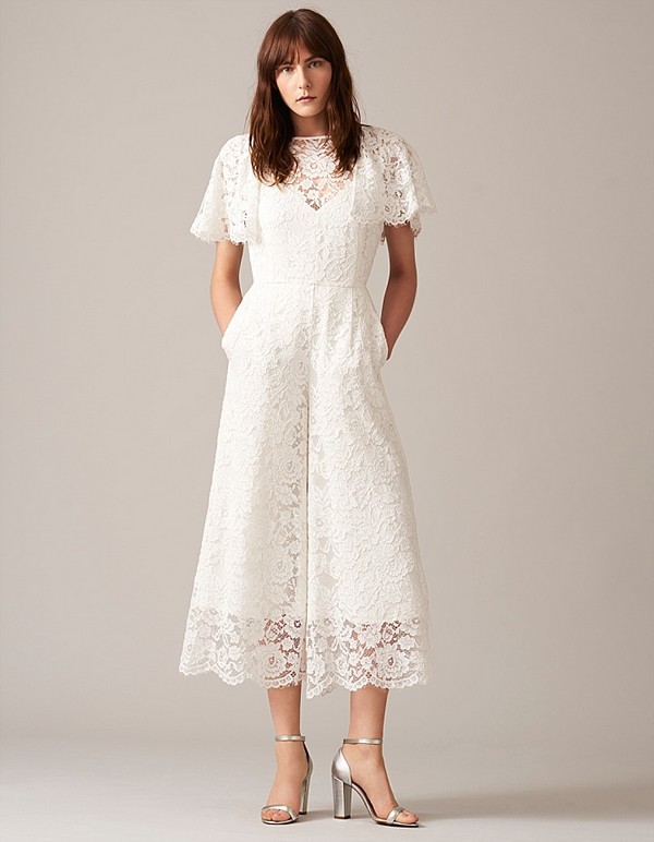 Victoria Lace Bridal Jumpsuit from Whistles