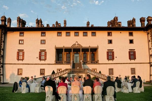 Villa La Ferdinanda wedding venue in Tuscany, Italy
