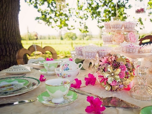 5 Tips for a Vintage Tea Party Wedding