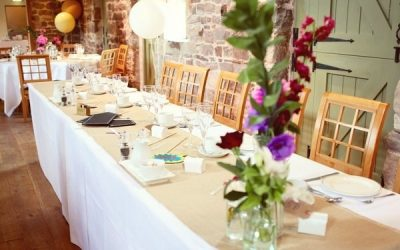 Dressing a Wedding Venue – Table Linen