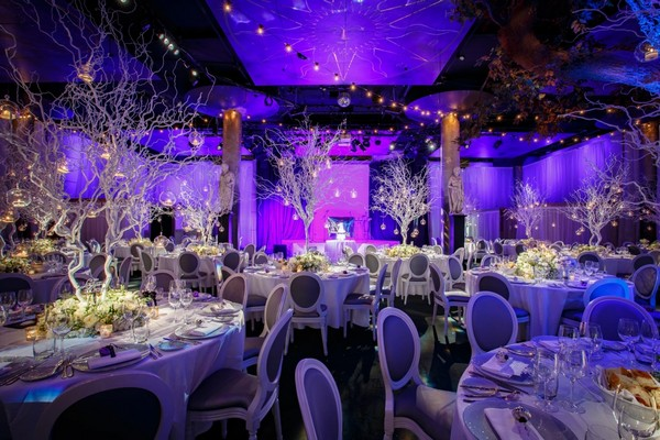 Winter Wonderland Wedding Planned by Lamare London