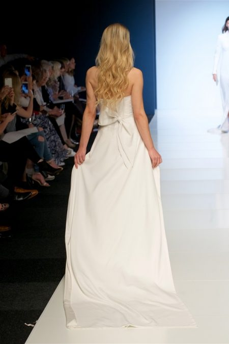 Back of Xenia Wedding Dress from the Alan Hannah Veritas 2018 Collection