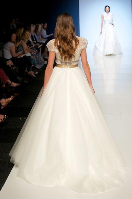 Back of Yolanda Wedding Dress from the Alan Hannah Veritas 2018 Collection