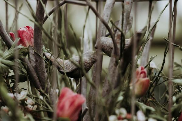 Bird figures in branches