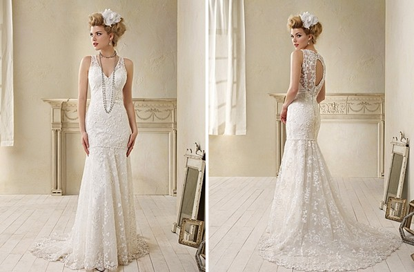 8507 from the Alfred Angelo Modern Vintage Bridal 2014 Collection