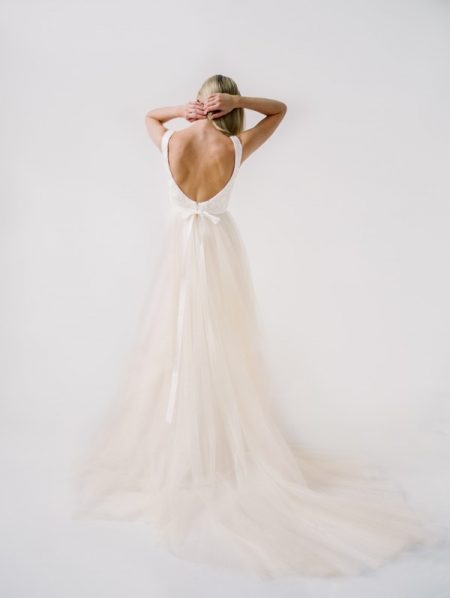 Back of Andrianna Wedding Dress from the Truvelle 2018 Collection