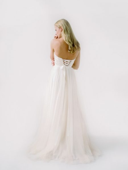 Back of Britt Wedding Dress from the Truvelle 2018 Collection