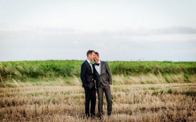 Groom Suits for a Civil Partnership