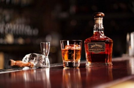 Jack Daniel's Single Barrel Select On the Rocks