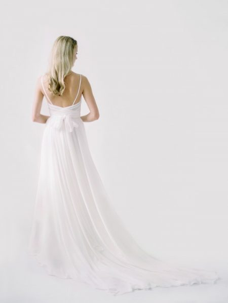 Back of Kim Wedding Dress from the Truvelle 2018 Collection