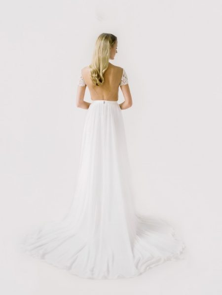 Back of Mary Wedding Dress from the Truvelle 2018 Collection