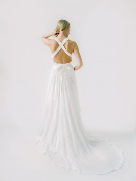 Back of Rebecca Wedding Dress from the Truvelle 2018 Collection