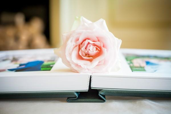 Rose on Wedding Photo Album