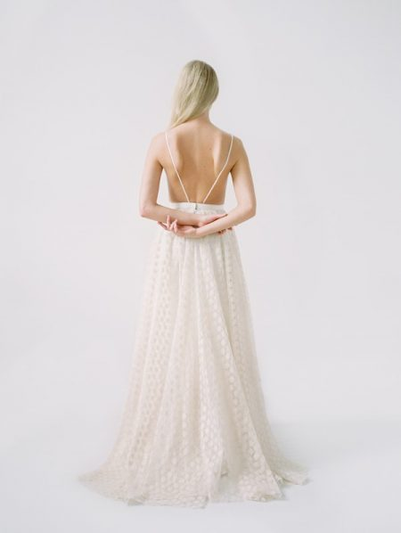 Back of Samantha Wedding Dress from the Truvelle 2018 Collection