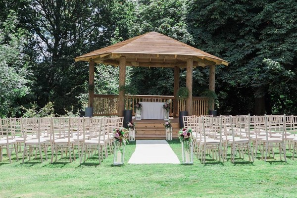 That Amazing Place Outdoor Wedding Ceremony Gazebo