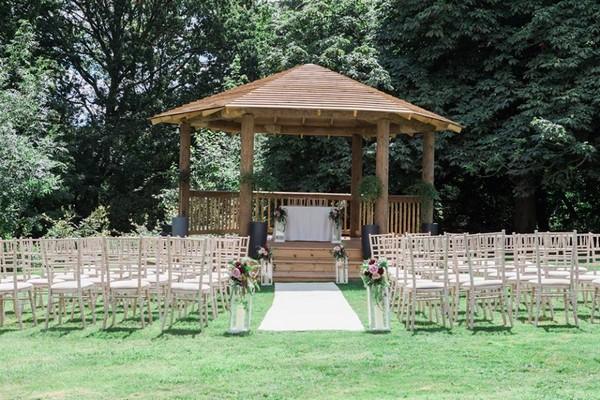 That Amazing Place Outdoor Wedding Ceremony Gazebo