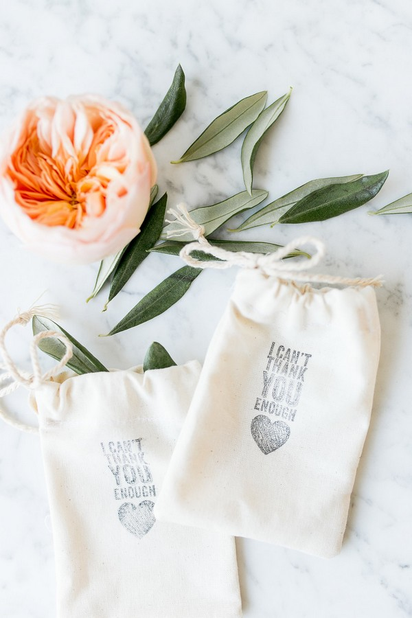Wedding favour pouches