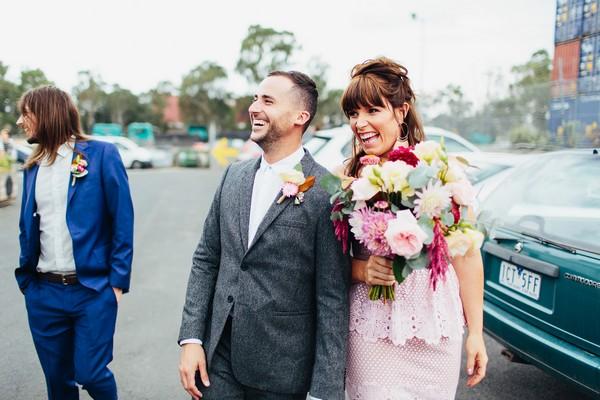 Bridesmaid and partner