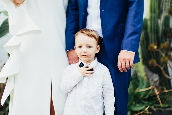 Pageboy adjusting bow tie