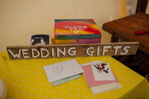 Wedding gifts table