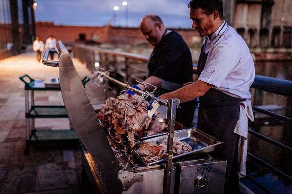 Wedding hog roast