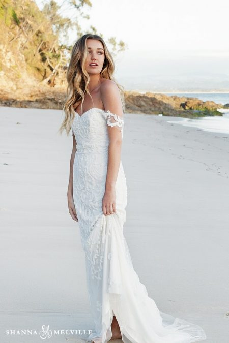 Abigail Wedding Dress from the Shanna Melville 2018 Bridal Collection