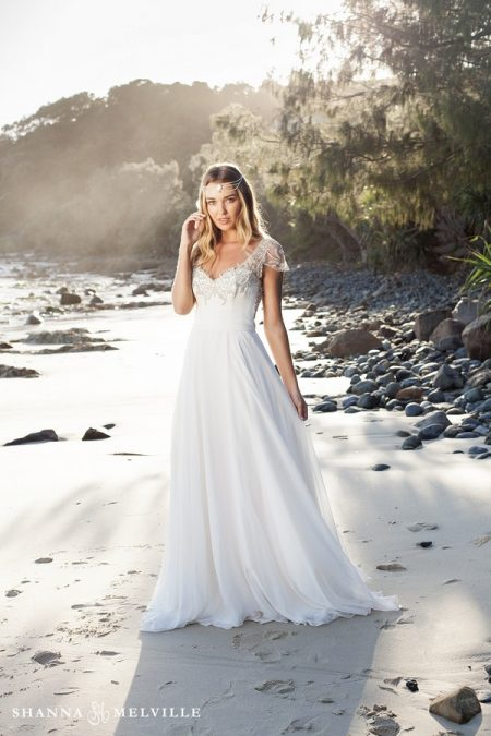 Addison Wedding Dress from the Shanna Melville 2018 Bridal Collection