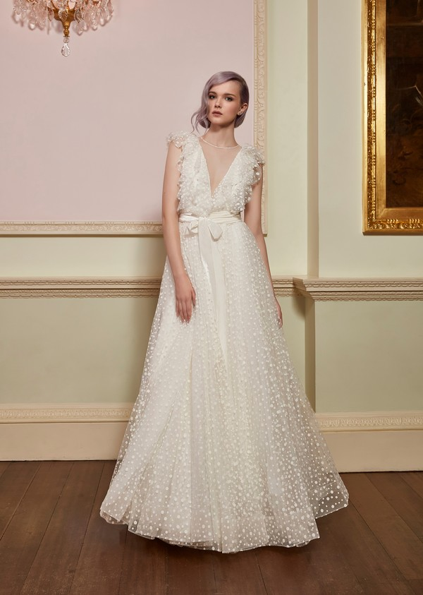 Adorn Wedding Dress with Bond Belt from the Jenny Packham 2018 Bridal Collection