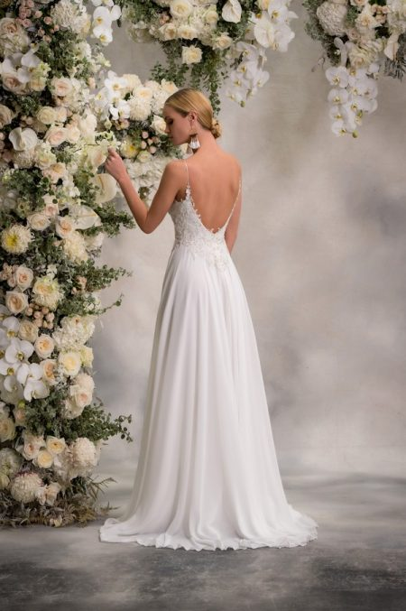 Back of Ali Wedding Dress from the Anna Georgina Inca Lily 2018 Bridal Collection