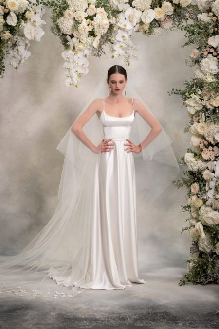 Amber Wedding Dress from the Anna Georgina Inca Lily 2018 Bridal Collection