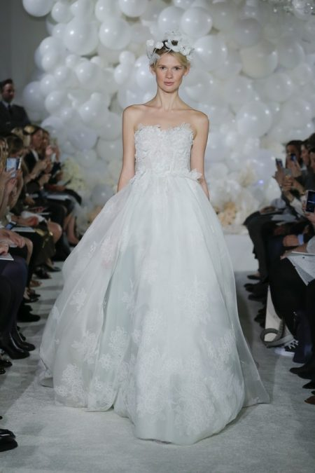 Amelia Wedding Dress from the Mira Zwillinger Over the Rainbow 2018 Bridal Collection