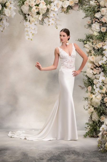 Angelina Wedding Dress from the Anna Georgina Inca Lily 2018 Bridal Collection