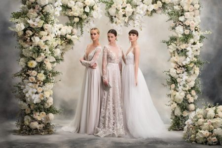 Three Wedding Dresses from the Anna Georgina Inca Lily 2018 Bridal Collection
