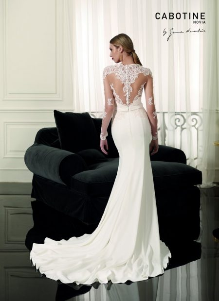 Back of Annecy Wedding Dress from the Cabotine 2018 Bridal Collection