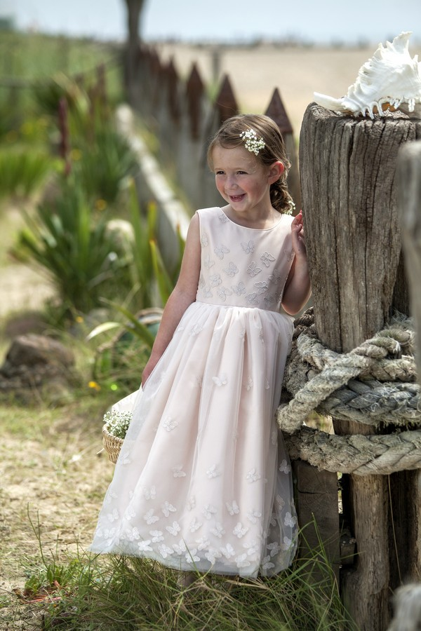 Annelise Flower Girl/Bridesmaid Dress from the Nicki Macfarlane Spring/Summer 2018 Collection