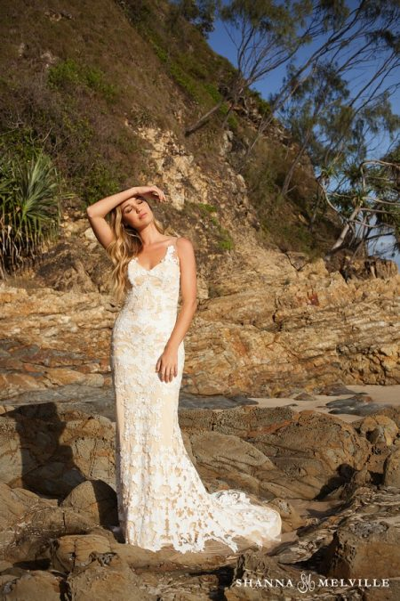 Ava Wedding Dress from the Shanna Melville 2018 Bridal Collection