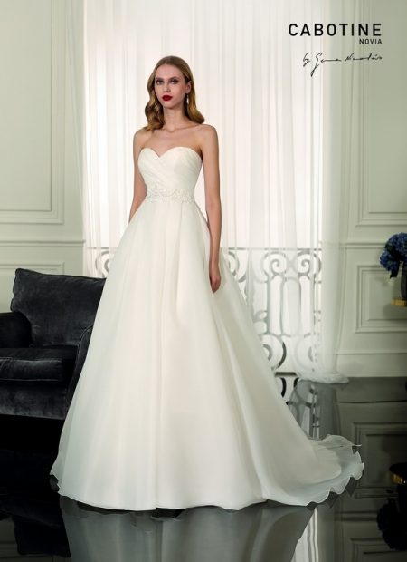 Avallon Wedding Dress from the Cabotine 2018 Bridal Collection