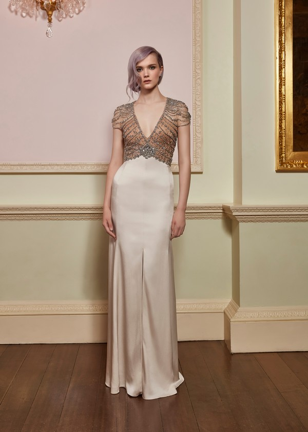 Awe Wedding Dress from the Jenny Packham 2018 Bridal Collection