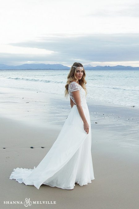 Bella Wedding Dress from the Shanna Melville 2018 Bridal Collection