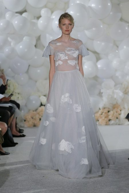 Celeste Wedding Dress from the Mira Zwillinger Over the Rainbow 2018 Bridal Collection