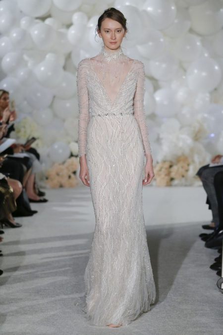 Celine Wedding Dress from the Mira Zwillinger Over the Rainbow 2018 Bridal Collection