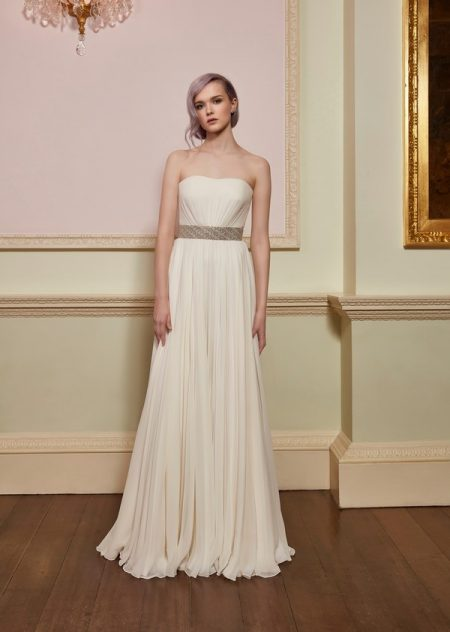 Chance Wedding Dress with Magic Belt from the Jenny Packham 2018 Bridal Collection