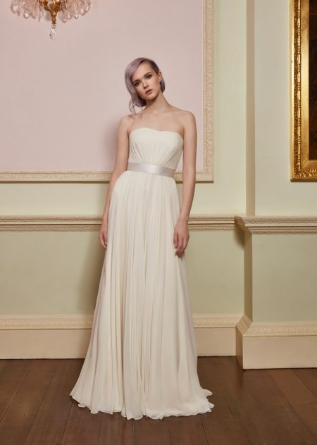 Chance Wedding Dress with Silk Belt from the Jenny Packham 2018 Bridal Collection