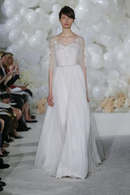 Ciela Wedding Dress from the Mira Zwillinger Over the Rainbow 2018 Bridal Collection