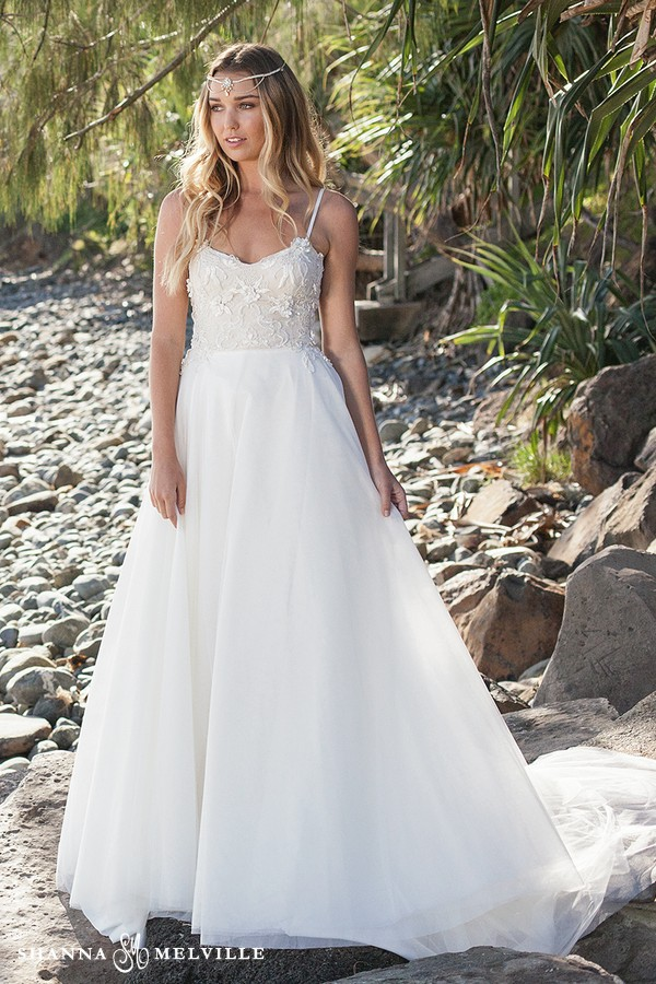 Clara Wedding Dress from the Shanna Melville 2018 Bridal Collection